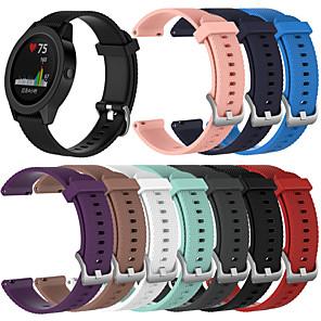 hesapli Garmin İçin Saat Kordonları-Watch Band için vivomove / vivomove HR / Vivoactive 3 Garmin Spor Bantları Silikon Bilek Askısı