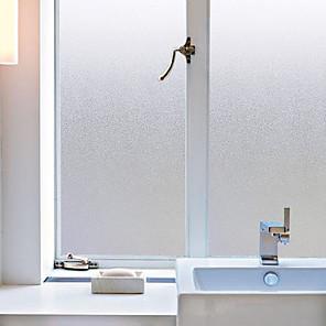 ieftine Tratamente de Fereastră-mată 45 cm 100 cm Mat Living / Camera de baie / Shop / Cafenea PVC