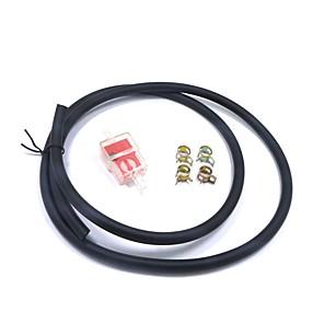 ieftine Părți Motociclete & ATV-1m combustibil furtun tub linie benzină filtru benzină ștergător set pentru motocicletă groapă bicicletă atv 125 150cc