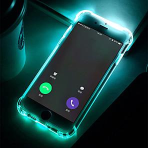 ieftine Kit De Activitate De Copii-Maska Pentru Samsung Galaxy S9 / S9 Plus / S8 Plus Anti Șoc / LED-uri de lumină intermitentă / Transparent Capac Spate Mată Moale TPU