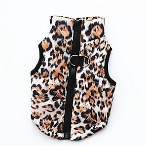 ieftine Pet Costume de Crăciun-Câini Pisici Animale de Companie Îmbrăcăminte Câini Negru Leopard Mov Costume Corgi Beagle Shiba Inu Bumbac Mată Imprimeu camuflaj Casul / Zilnic Keep Warm XS S M L