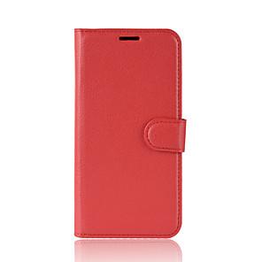 povoljno Maske/futrole za Xiaomi-Θήκη Za Xiaomi Xiaomi Redmi Note 7 / Xiaomi Redmi Note 7 Pro / Xiaomi Mi 9 SE Novčanik / Utor za kartice / Otporno na trešnju Korice Jednobojni PU koža
