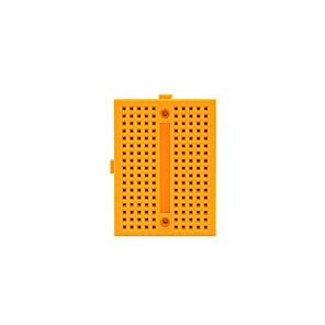 ieftine Module-Mini Breadboard - galben (46 x 35 x 8.5mm)