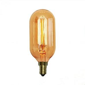 ieftine Audio & Video-1 buc 40 W E14 / E26 / E27 T45 Alb Cald 2300 k Retro / Decorativ Incandescent Vintage Edison bec 220-240 V / 110-120 V