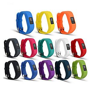 voordelige Hondenkleding & -accessoires-horlogeband voor vivofit 3 garmin sportband siliconen polsbandje (met weinig geur van siliconen)