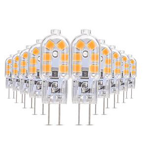 ieftine Benzi Lumină LED-YWXLIGHT® 10pcs 3 W Becuri LED Bi-pin 200-300 lm G4 T 12 LED-uri de margele SMD 2835 Alb Cald Alb Rece Alb Natural 12 V