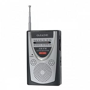 povoljno Poklopci sjedala automobila-OJADE OE-1201 Mini prijenosni AM / FM 2-band radio