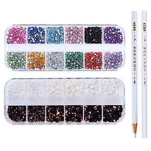 ieftine Îngrijire Unghii-4 pcs Nail Art Drill Kit Cristal nail art pedichiura si manichiura Nuntă / Petrecere / Seară / Zilnice Metalic