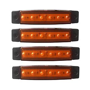 economico Lampadine LED auto-ZIQIAO 4pcs Auto Lampadine 1.5W SMD LED 120lm 6 luci esterne For Universali Universali Tutti gli anni
