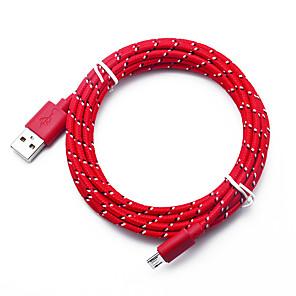 ieftine USB-uri-Micro USB Cablu >=3m / 9.8ft Rapidă încărcare TPE Adaptor pentru cablu USB Pentru Samsung / Huawei / LG