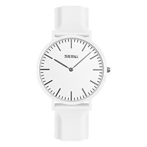 ieftine Cuarț ceasuri-SKMEI Pentru femei Ceas de Mână Quartz femei Rezistent la Apă Silicon Negru / Alb / Roșu Analog - Alb Negru Rosu Un an Durată de Viaţă Baterie / Japoneză / Japoneză