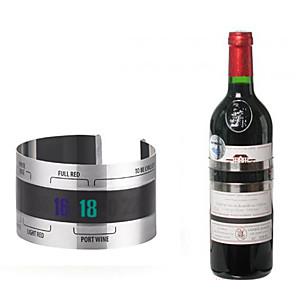 ieftine Produse de Bar-oțel inoxidabil sticlă de vin termometru termometru bara stil stil