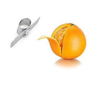povoljno Halloween smink-od nehrđajućeg čelika narančasta ljuštila parer rukom prst voćni otvarač kuhinjska naprava