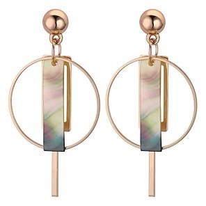 ieftine Colier la Modă-Pentru femei Cercei Picătură Lung femei Vintage Έθνικ Modă cercei Bijuterii Auriu Pentru Petrecere Gril pe Kamado  1 Pair