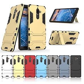 ieftine Carcase / Huse de Nokia-Maska Pentru Nokia Nokia 7 Plus Cu Stand Capac Spate Mată Greu PC