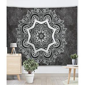 baratos Decoração de parede-Inovador / Férias Decoração de Parede Poliéster Clássico / Vintage Arte de Parede, Tapetes de parede Decoração