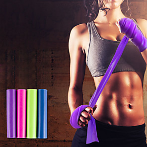 ieftine Benzi Exerciții-Benzi de Rezistenta Emulsie Extins Elastic Gros Antrenament forță Fizioterapie Yoga Pilates Fitness Pentru Casă Birou