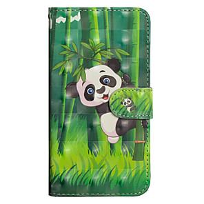ieftine Carcase / Huse de Sony-Maska Pentru Sony Xperia XZ2 / Xperia XZ2 Compact / Xperia XA2 Ultra Portofel / Titluar Card / Cu Stand Carcasă Telefon Panda Greu PU piele