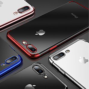 ieftine Carcase iPhone-Maska Pentru Apple iPhone XS / iPhone XR / iPhone XS Max Placare / Transparent Capac Spate Mată Moale TPU