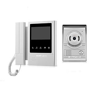 povoljno Sigurnosni senzori-XINSILU XSL-V43E168 Žičano 4.3 inch Hands-free / Telefon 480*272 Pixel One to One video doorphone