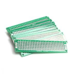 ieftine Întrerupătoare-10pcs prototype dublu PCB universal placă de circuite imprimate universal PCB circuit board (2x8cm)