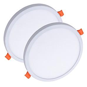 ieftine Lumini de Panou-ZDM® 2pcs 8 W 40 LED-uri de margele Ușor de Instalat Încastrat Model nou Lumini Panel LED Tavan Alb Cald Alb Rece 85-265 V Rezidențial Acasă / Birou / RoHs / CE / 90