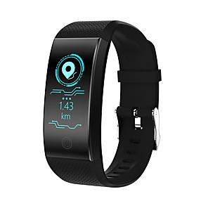 hesapli Akıllı Saatler-QW18 Erkek Akıllı İzle Android iOS Bluetooth Su Geçirmez Kalp Ritmi Monitörü Kan Basıncı Ölçümü Dokunmatik Ekran Yakılan Kaloriler Pedometre Arama Hatırlatıcı Aktivite Takipçisi Uyku Takip Edici