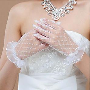 ieftine Mănuși & Mănuși 1 deget-spandex Fabric Lungime Încheietură Mănușă Stil Vintage / Mănuși Cu Solid