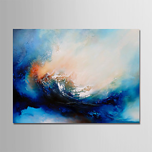 povoljno Zidni ukrasi-Hang oslikana uljanim bojama Ručno oslikana - Sažetak Moderna Bez unutrašnje Frame / Valjani platno