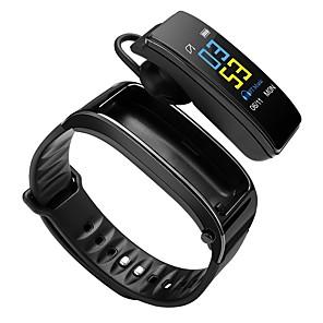y3 smart armbånd bluetooth fitness tracker og trådløs hodetelefonstøttevarsel / pulsmåler sports vanntett smartklokke for iphone / samsung / android telefoner
