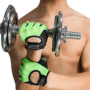 ieftine Accesorii Fitness-Manusi pt antrenament Sport Silicon Fitness Gimnastică antrenament Culturism Ajustabil alunecare anti- Respirabil Antrenament Protecţie Pentru Bărbați Dame mâini