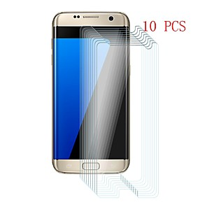 ieftine Ustensile & Gadget-uri de Copt-Samsung GalaxyScreen ProtectorS7 edge 9H Duritate Ecran Protecție Față 10 piese Sticlă securizată