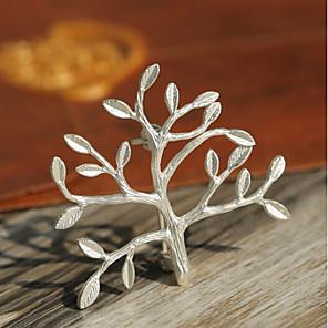 povoljno Broševi-Žene Broševi Sa stilom životno stablo Moda Uglađeni Broš Jewelry Zlato Srebro Za Dnevno Festival