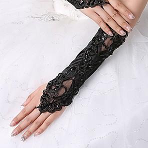 ieftine Mănuși & Mănuși 1 deget-spandex Fabric Lungime Cot Mănușă Stil Vintage / Mănuși Cu Terminaţii