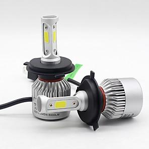 ieftine Faruri de Mașină-2 buc 9004/9007 / h7 becuri auto 30 w led integrat / cob / led de înaltă performanță 8000 lm 3 faruri led / faruri de ceață toți anii