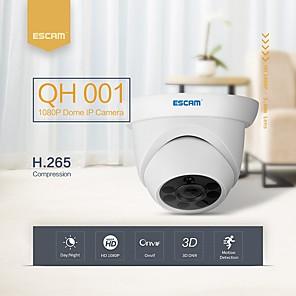 ieftine Cercei-escam qh001 onvif h.265 1080p p2p ir camera de fotografiat ip cu funcția de analiză inteligentă