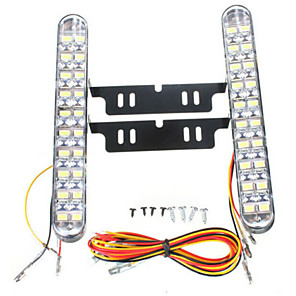 ieftine Gadget-uri & Piese Auto-2pcs Mașină Becuri 10 W SMD 5050 850 lm 30 LED Bec de Zi Pentru