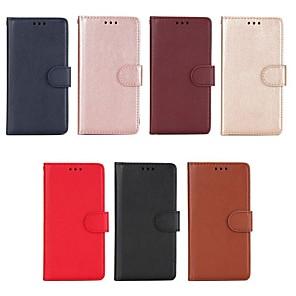 povoljno Maske/futrole za Xiaomi-Θήκη Za Xiaomi Redmi 5A / Xiaomi Redmi 5 Plus / Xiaomi Redmi 5 Novčanik / Utor za kartice / sa stalkom Korice Jednobojni Tvrdo PU koža / Xiaomi Redmi 4A