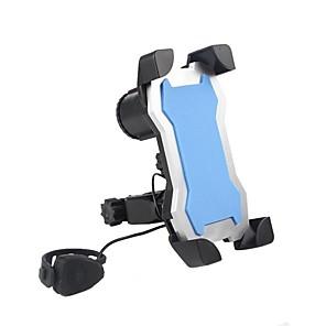 ieftine Ustensile & Gadget-uri de Copt-Montare Telefon Bicicletă alarmă Holder Instrumentul Telefon celular pentru Bicicletă șosea Bicicletă montană biciclete pliante Plastic iPhone X iPhone XS iPhone XR Ciclism Negru Albastru Roz 1 pcs