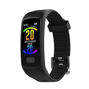 Недорогие Цифровые часы-JSBP E07 Женский Умный браслет Android iOS Bluetooth Спорт Водонепроницаемый Пульсомер Измерение кровяного давления Сенсорный экран ЭКГ + PPG / Датчик для отслеживания активности / будильник