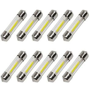 ieftine Spoturi LED-10pcs 36mm Mașină Becuri 1 W COB 80 lm 1 LED Bec Semnalizare / Lumini de interior Pentru Παγκόσμιο