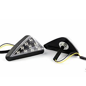 ieftine Lumini de Interior Mașină-2pcs capac transparent transparent 4.5w ip66 condus lumină de semnalizare lumină albă chihlimbar albastru verde roșu 5 culori opțional