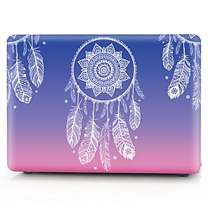 """ieftine Brățări-MacBook Carcase Floare / culoare Gradient PVC pentru MacBook Pro 13-inch / Macbook Pro 15-inch cu ecran Retina / New MacBook Air 13"""" 2018"""
