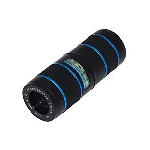 ieftine Cameră Mobil-Obiectivul telefonului mobil Lentile Fish-Eye / Lentile cu Focalizare Lungă / Lentile cu Unghi Larg Aliaj din aluminiu Macro 12X 20 mm 10 m 80 ° Lentile cu Stativ