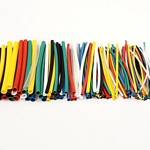 ieftine Accesorii-100pcs termocontractabil tub tubing sleeving wrap cablu sârmă kit