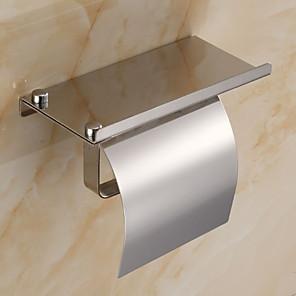 ieftine Gadget Baie-Suport Hârtie Toaletă Model nou / Cool Contemporan Oțel inoxidabil / Fier 1 buc Suporturi De Hârtie Igienică Montaj Perete