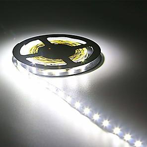 ieftine LED-uri-hkv® ip20 300led 5m smd 3528 8mm bandă led cu bandă flexibilă cu diodă 12v cu bandă led cu bandă pentru bandă luminoasă