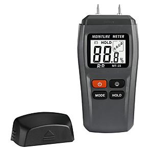 ieftine Testere & Detectoare-mt-15 tester pentru umiditatea lemnului analizor de umiditate din lemn masă de umiditate cutie de carton