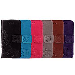 ieftine Carcase / Huse de Nokia-Maska Pentru Nokia Nokia 3.1 Titluar Card / Întoarce Carcasă Telefon Mată / Mandala Moale PU piele