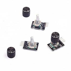 preiswerte Module-Drehkodiermodul 3pcs mit Knopfkappe für arduino
